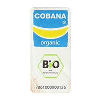 COBANA organic BIO 7861000900126  18,5 x 39,1 mm paper 2012 NB unique