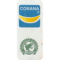 COBANA RAINFOREST ALLIANCE CERTIFIED  0 x 0 mm paper 2017  Ecuador unique