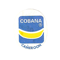 COBANA  22 x 26,7 mm paper before 2012 Cameroon unique