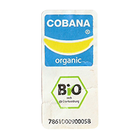 COBANA organic BIO 7861000900058  18,5 x 39,2 mm paper 2011 NB unique