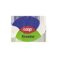 coop  23,2 x 17,3 mm paper 2012 DK Ecuador unique