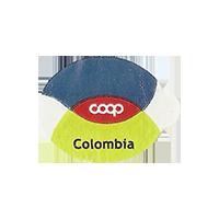 coop  22 x 16,7 mm paper 2014 M Colombia unique