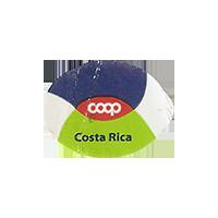 coop  22,1 x 44,5 mm paper 2016 M Costa Rica unique
