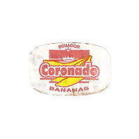 Coronado BANANAS  0 x 0 mm paper 2017  Ecuador unique