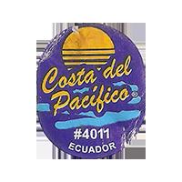 Costa del Pacifico #4011  0 x 0 mm paper 2018 DP Ecuador unique