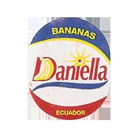 Daniella BANANAS  21,6 x 26,8 mm paper 2016 JK Ecuador unique