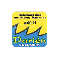 Darien Delicious and nutritious bananas #4011  0 x 0 mm paper 2017  Columbia unique