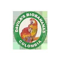 DAVILA'S BIOBANANAS  22 x 24,7 mm paper before 2012 J Colombia unique