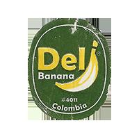 Del Banana #4011  22 x 26,9 mm paper 2015 WF Colombia unique