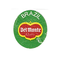 Del Monte Quality  22,2 x 25 mm paper before 2012 Brazil unique
