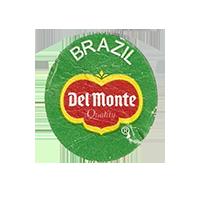 Del Monte Quality  22,2 x 25 mm paper before 2012 Brazil unique