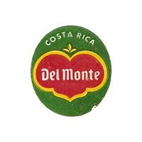 Del Monte Quality  22,3 x 25,1 mm paper before 2012 Costa Rica unique