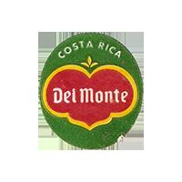 Del Monte Quality  22,3 x 25,1 mm paper before 2012 Costa Rica unique