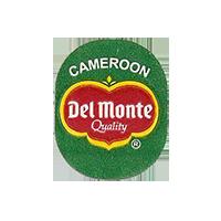 Del Monte Quality  20 x 25 mm paper before 2012 Cameroon unique