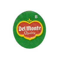 Del Monte Quality B  22 x 25,1 mm paper before 2012 Ecuador unique
