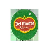 Del Monte Quality B  22 x 25,1 mm paper before 2012 Ecuador unique