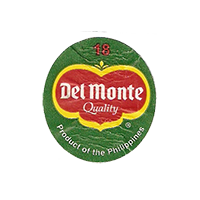 Del Monte Quality Product of the Philippines 18  22,1 x 24,5 mm paper before 2012 NB Philippines unique