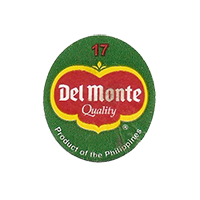Del Monte Quality Product of the Philippines 17  22,2 x 24,8 mm paper before 2012 NB Philippines unique