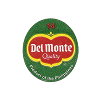 Del Monte Quality Product of the Philippines 14  22 x 24,8 mm paper before 2012 NB Philippines unique