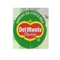 Del Monte Quality BANANO DE COSTA RICA  22 x 25,2 mm paper before 2012 Costa Rica unique