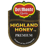 Del Monte Quality HIGHLAND HONEY PREMIUM Product of the Philippines  26 x 37,8 mm paper 2012 KČ Philippines unique
