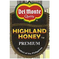 Del Monte Quality HIGHLAND HONEY PREMIUM Product of the Philippines  26 x 37,8 mm paper 2012 KČ Philippines unique
