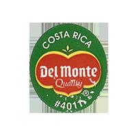 Del Monte Quality #4011  22,2 x 25,4 mm paper 2012 KČ Costa Rica unique