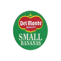 Del Monte QUALITY  SMALL BANANAS  22,2 x 25,4 mm paper 2012 KČ unique