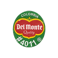 Del Monte Quality #4011  22 x 24,5 mm paper 2012 J Colombia unique