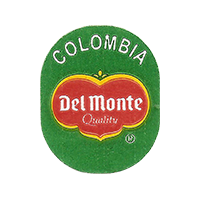 Del Monte Quality  20,6 x 25,3 mm paper 2014 J Colombia unique