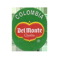 Del Monte Quality  20,6 x 25,3 mm paper 2014 J Colombia unique