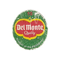 Del Monte Quality 15 Product of the Philippines   22,1 x 24,8 mm paper 2015 ML Philippines unique