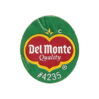 Del Monte Quality  C #4235  22 x 25,2 mm paper 2016 CC unique