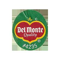 Del Monte Quality  C #4235  22 x 25,2 mm paper 2016 CC unique