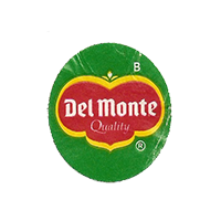 Del Monte Quality B  21,8 x 24,8 mm paper before 2012 unique
