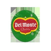 Del Monte Quality B  21,8 x 24,8 mm paper before 2012 unique