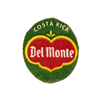 Del Monte Quality  22 x 25 mm paper before 2012 NB Costa Rica unique