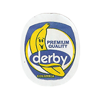 derby PREMIUM QUALITY  22,1 x 27,1 mm paper 2017 J Colombia unique