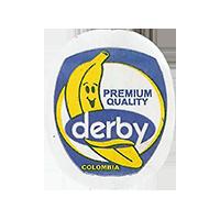 derby PREMIUM QUALITY  22,1 x 27,1 mm paper 2017 J Colombia unique