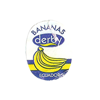 derby  BANANAS  18 x 23,5 mm paper before 2012 J Ecuador unique