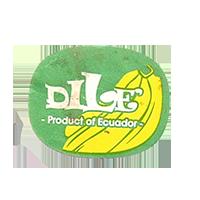 DILCE'  Product of Ecuador  27,7 x 21,9 mm paper before 2012 Ecuador unique
