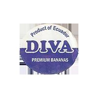 DIVA PREMIUM BANANAS  0 x 0 mm paper 2017 ŽT Ecuador unique