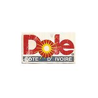 Dole  21,3 x 11,5 mm paper before 2012 Cote d'Ivoire unique