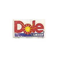 Dole  12,2 x 21,3 mm paper before 2012 Cameroun unique