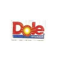 Dole  22 x 12,8 mm paper before 2009 J Ecuador unique