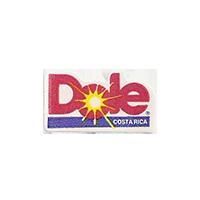 Dole  11,9 x 22 mm paper before 2012 Costa Rica unique