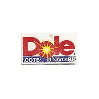 Dole  11,9 x 21,6 mm paper before 2012 Cote d'Ivoire unique