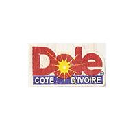 Dole  12,1 x 21,4 mm paper before 2012 Cote d'Ivoire unique
