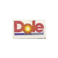 Dole  12,5 x 22,1 mm paper 2012 DK Honduras unique
