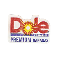 Dole PREMIUM BANANAS  19 x 28,4 mm paper 2012 DK Costa Rica unique